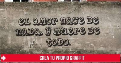 Crea tu propio graffiti